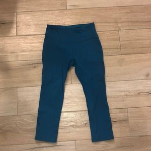 Calia by Carrie Underwood teal soft leggings, XS!